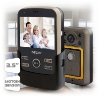 "GINZZU (HS-WD303B) Видеоглазок с датчиком движения: Экран 3,5"" TFT LCD"