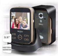 "GINZZU (HS-WD301B) Беспроводной Видеодомофон Экран 3,5"" TFT LCD"