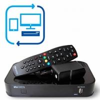 Обмен устаревшего приемника на современный HD-приёмник с возможностью записи эфира и подключения мобильных устройств.